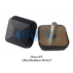 Doraz KV 120x120x30mm M12x37