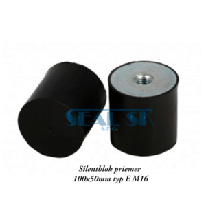 Silentblok priemer 100x50mm typ E M16