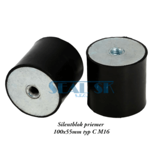 Silentblok priemer 100x55mm typ C M16