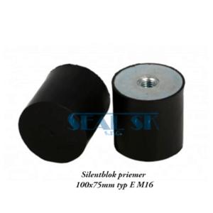 Silentblok priemer 100x75mm typ E M16